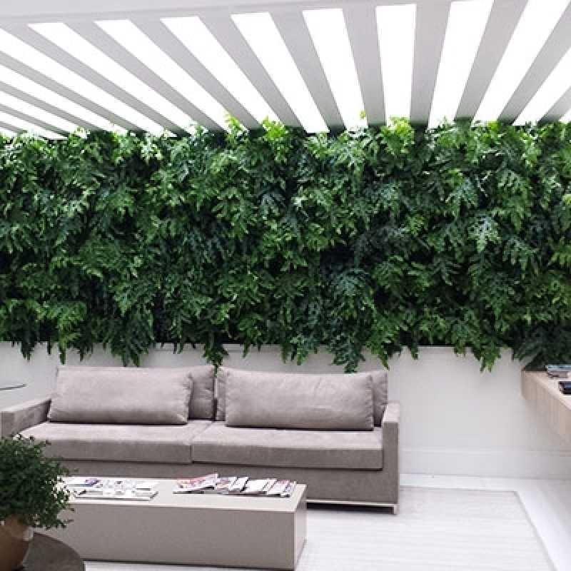Quanto Custa Manutenção de Jardins Verticais Alphaville - Empresa de Manutenção de Jardins