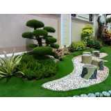 construção de jardins e paisagismo cotar Anália Franco