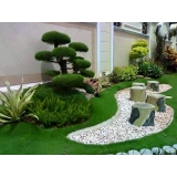 construção de jardins grandes orçamento Granja Julieta
