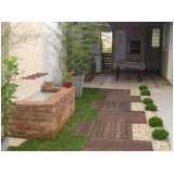 construção de jardins pequenos cotar Bom Retiro