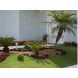 construção jardins cotar Parque do Chaves