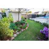 empresa de projeto paisagismo jardim pequeno orçar Jardim Japão