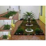empresa de projeto paisagismo praça Jardim Vazani