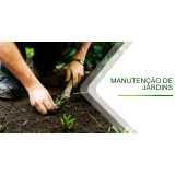 construção e manutenção de jardins