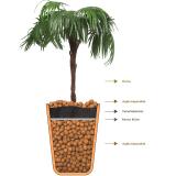 montagem de vasos de plantas valor Parque do Chaves
