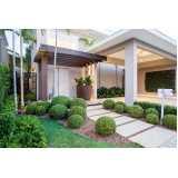 projeto de paisagismo residencial orçar Zona Sul