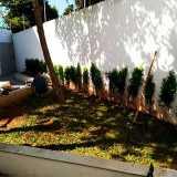 qual o preço de serviço de jardinagem para prédios Zona Oeste