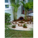 qual o valor de construção de jardins pequenos Vila Esperança