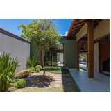 qual o valor de projeto de paisagismo residencial Vila Mazzei