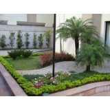 reforma de jardim em condomínios valores Sé